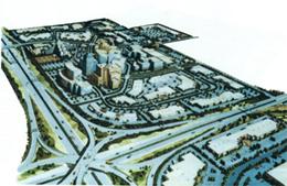 旧名「ザ・クロッシングズ」中心商業地部分計画図